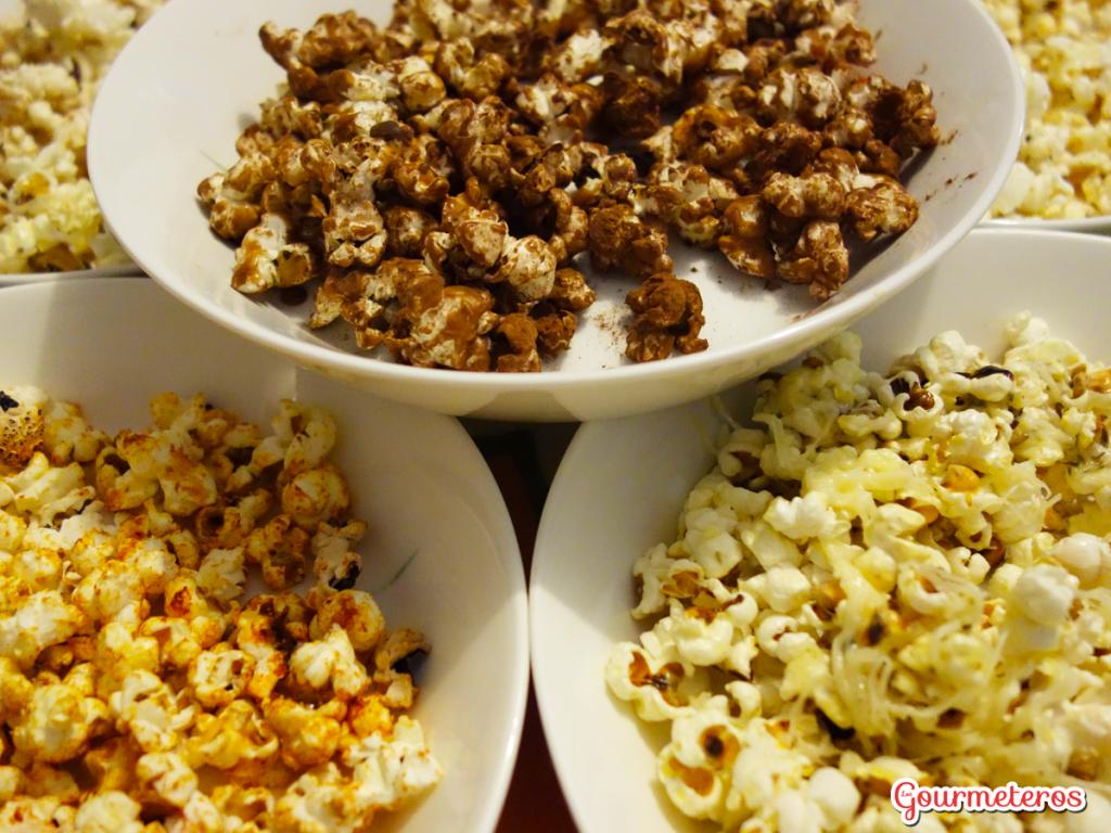 Palomitas dulces y saladas 5 ideas para preparar - Como hacer palomitas de caramelo caseras ...